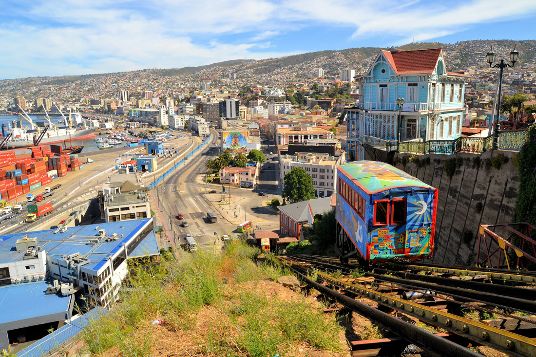 Funicular in Valparaiso