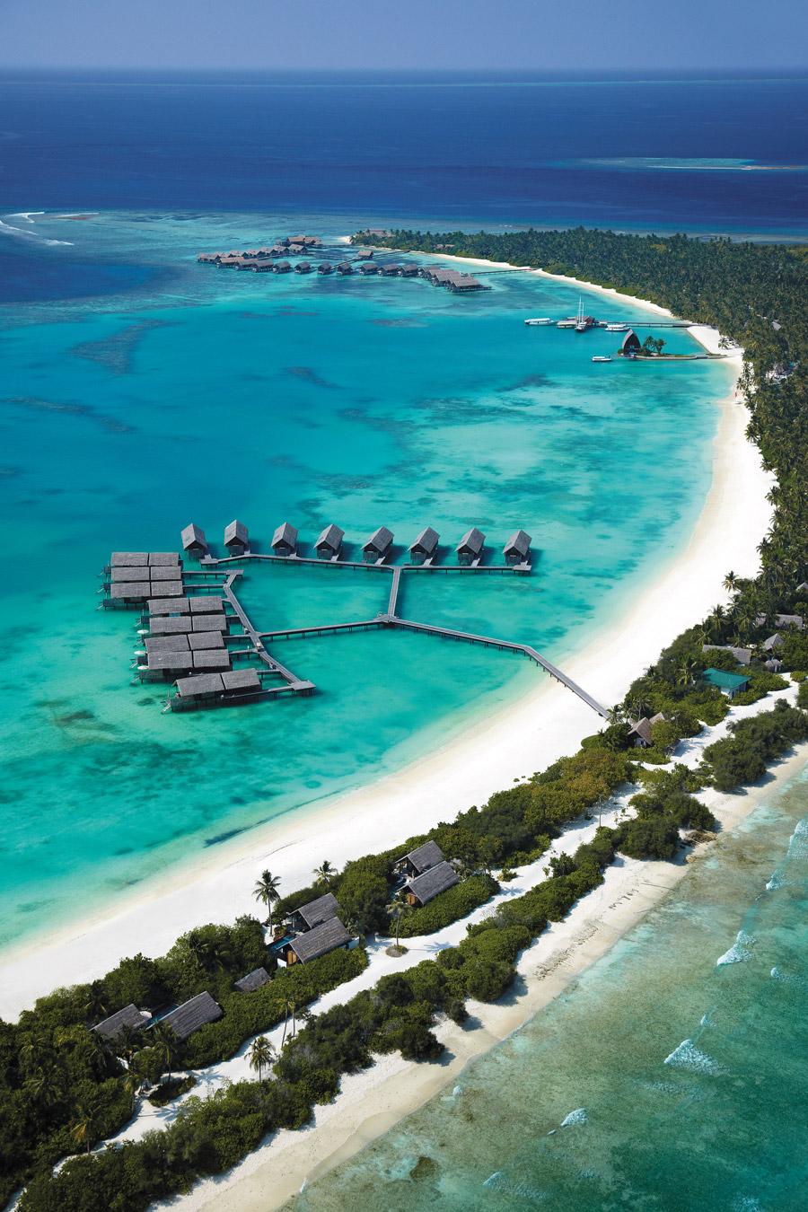 Most beautiful island resort