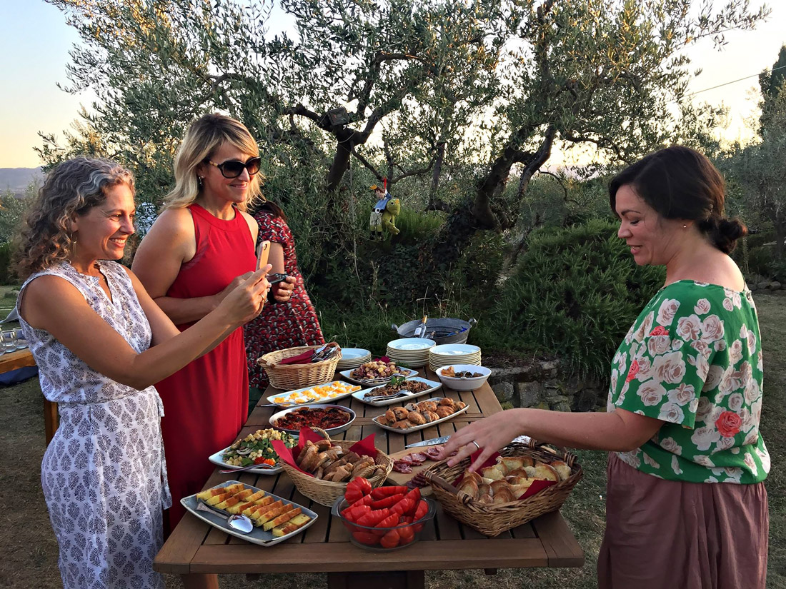 Farm-to-table in Tuscany