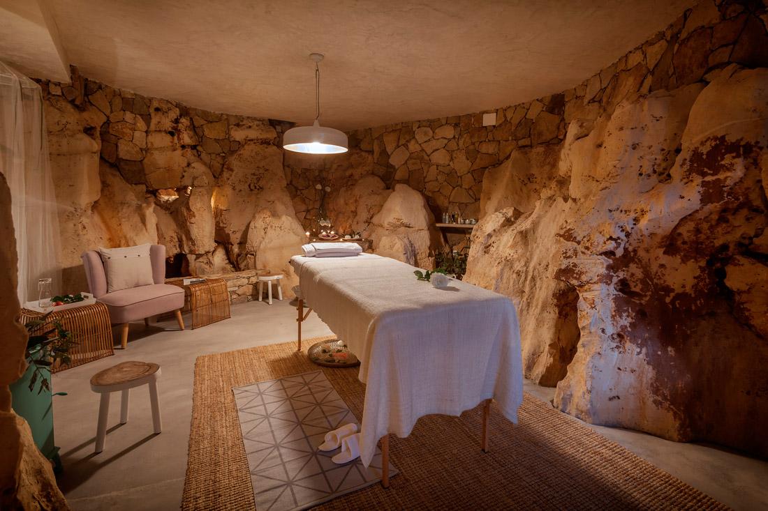 Natural cave spa