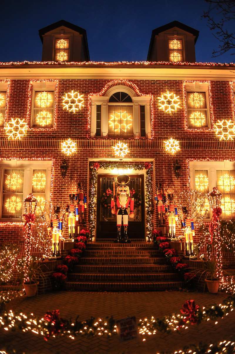 Christmas Lights in Dyker Heights