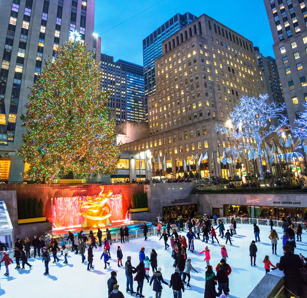 Lighting Of The Rockefeller Christmas Tree 2014: The 13 Best Things To Do In NYC In December 2019
