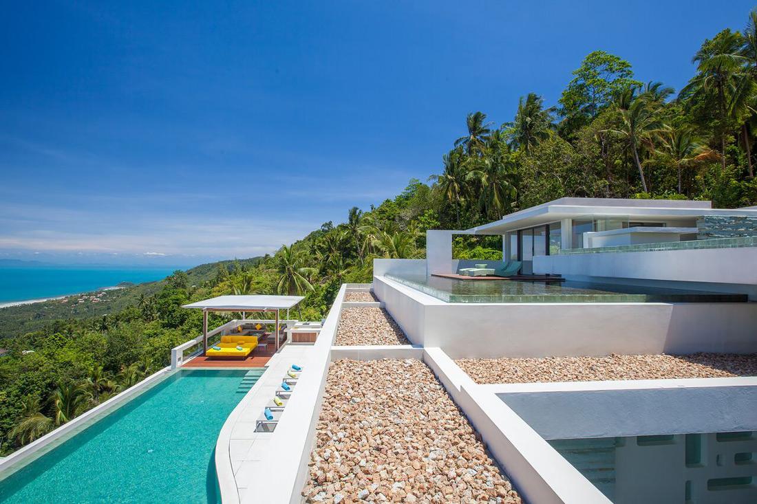 Hillside property in Ko Samui
