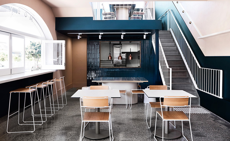 Industrial-chic coffee hangout