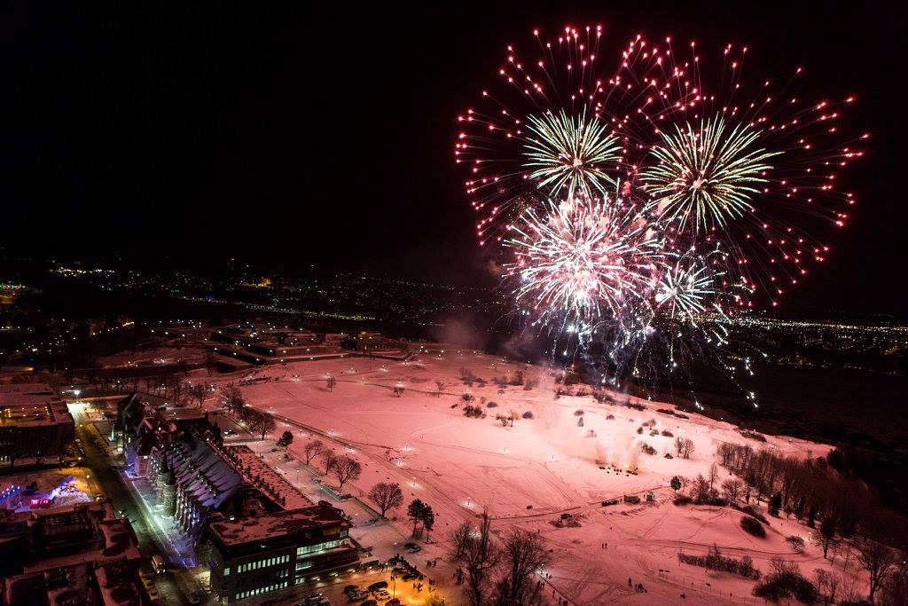 New Year's Eve in Quebec City