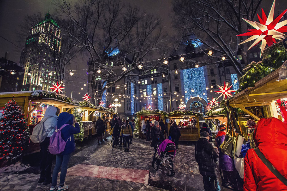 The German Christmas Market, Quebec City