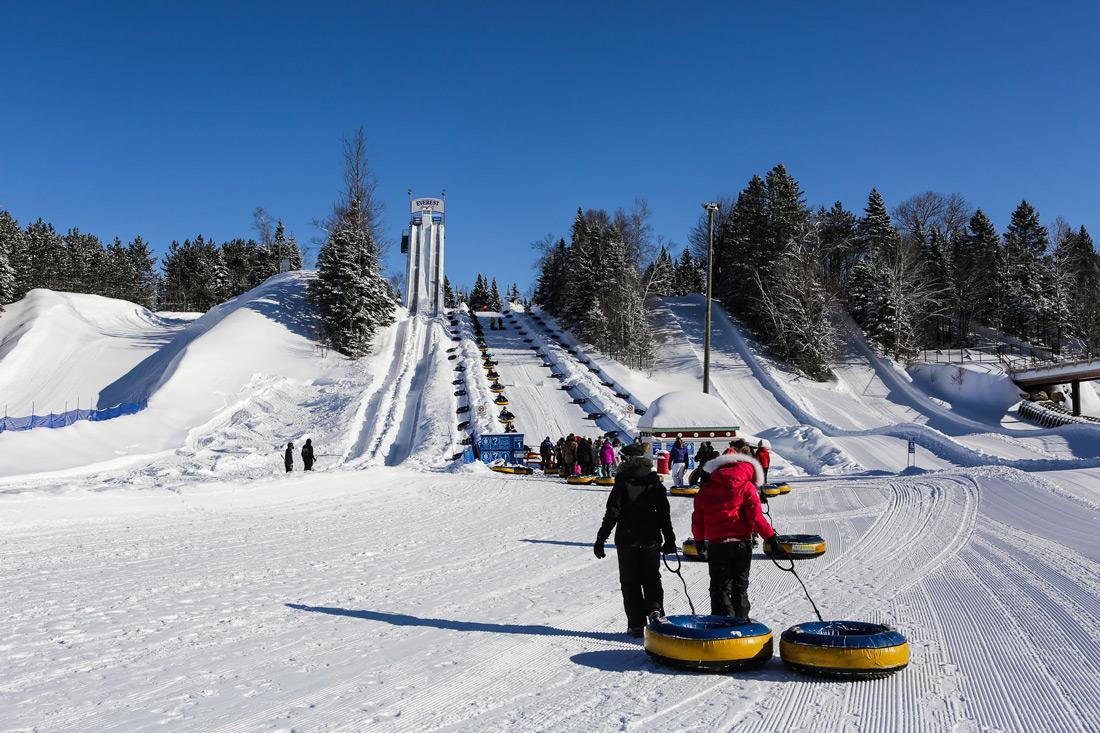 Valcartier winter playground