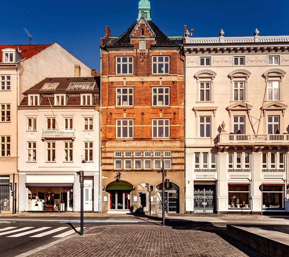 Beautiful city in Denmark