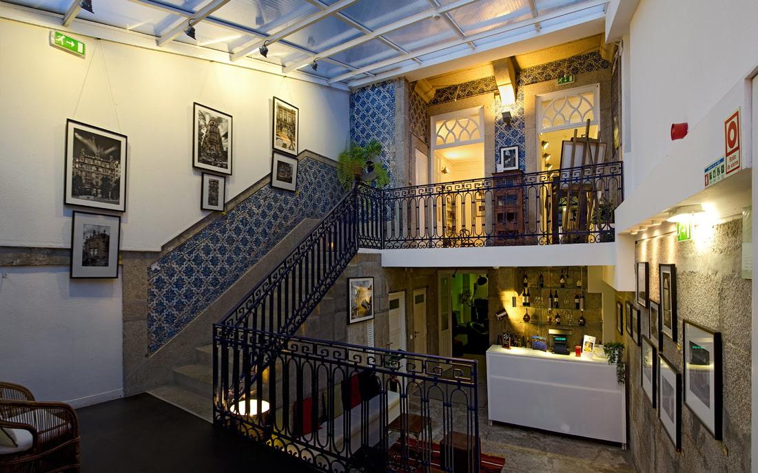 Stylish hostel in Porto