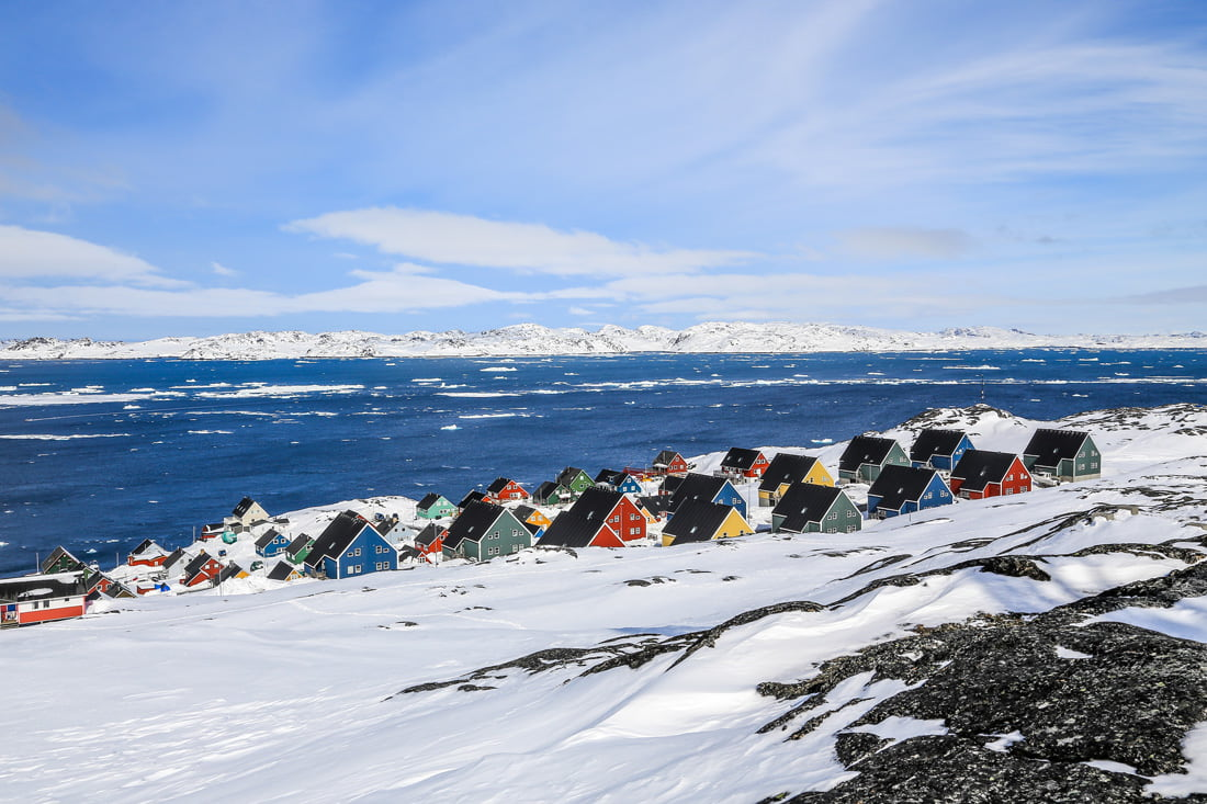Nuuk, capitale della Groenlandia