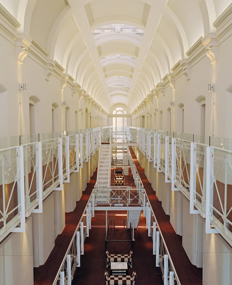 Prison hotel in England