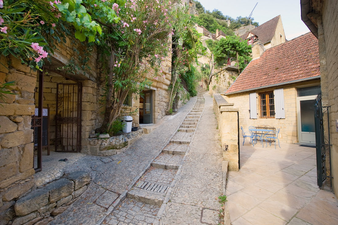 Charming village in France