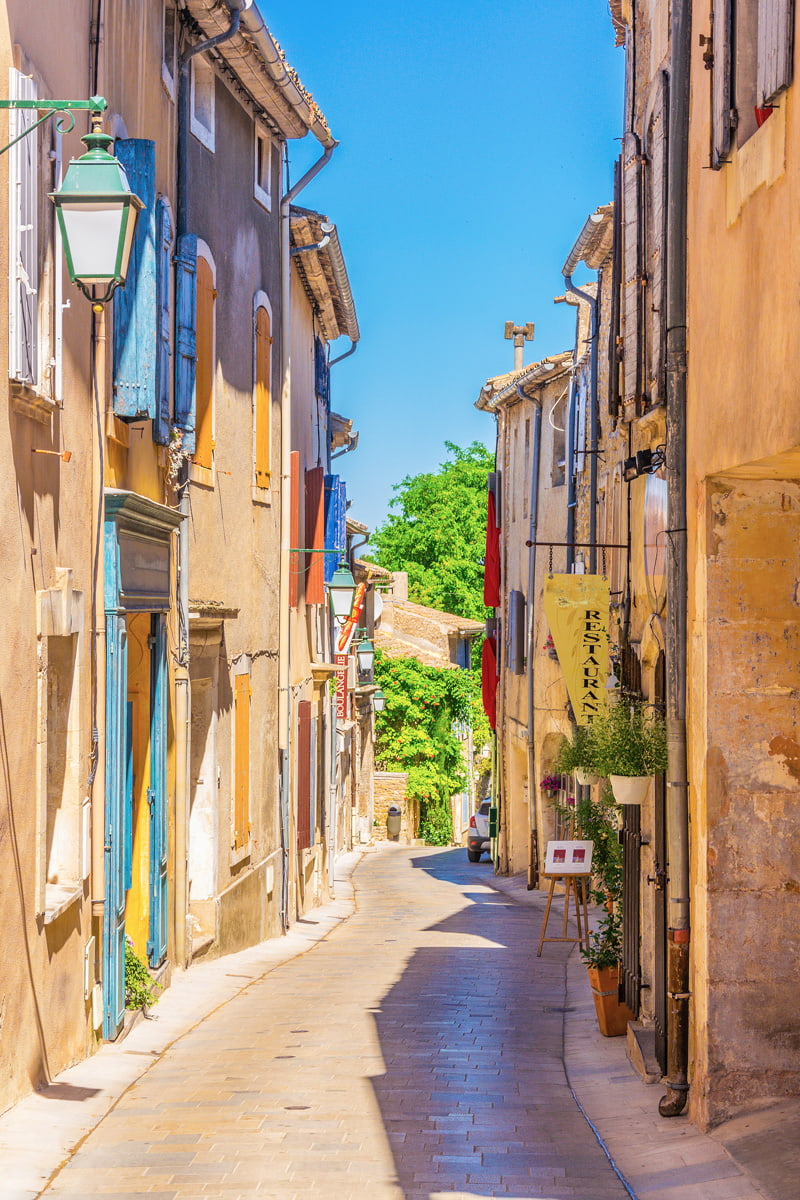 Cobbled street in Provence