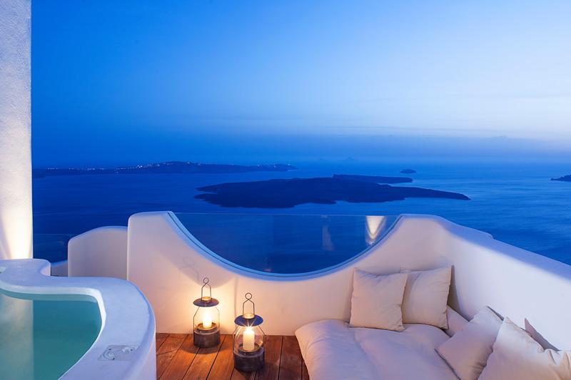 Villa with sea views in Imerovigli