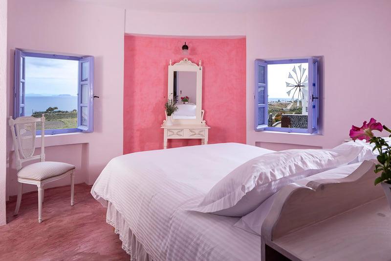 Unique vacation rental in Santorini