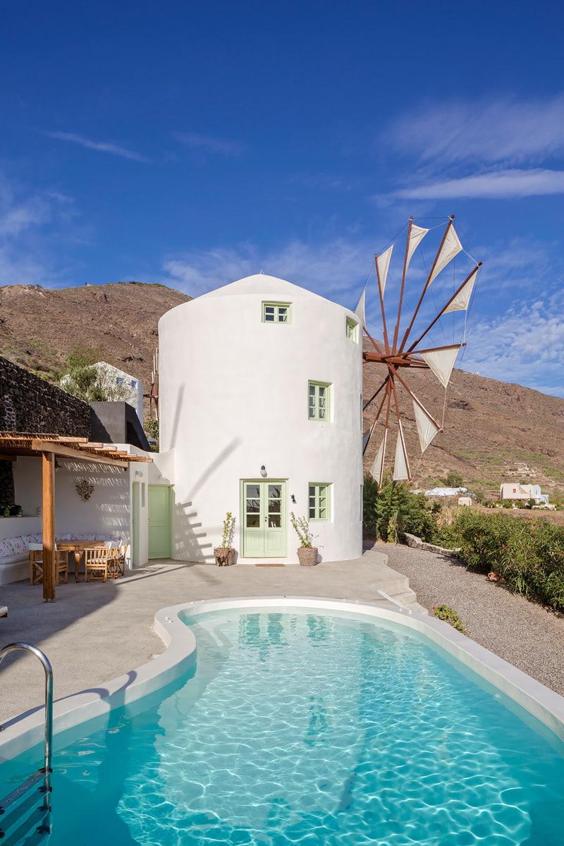 Windmill Villa, Santorini