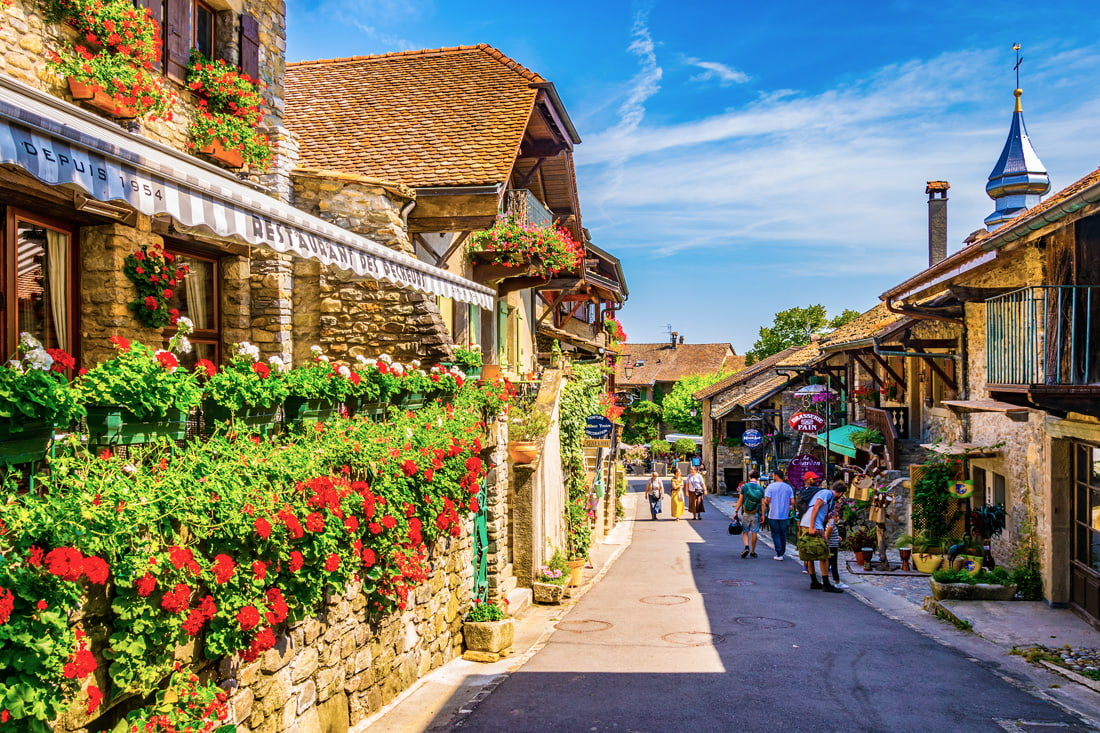 Yvoire, France