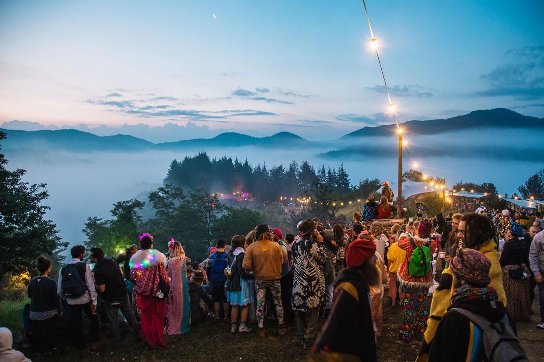 Summer music festival in Bulgaria