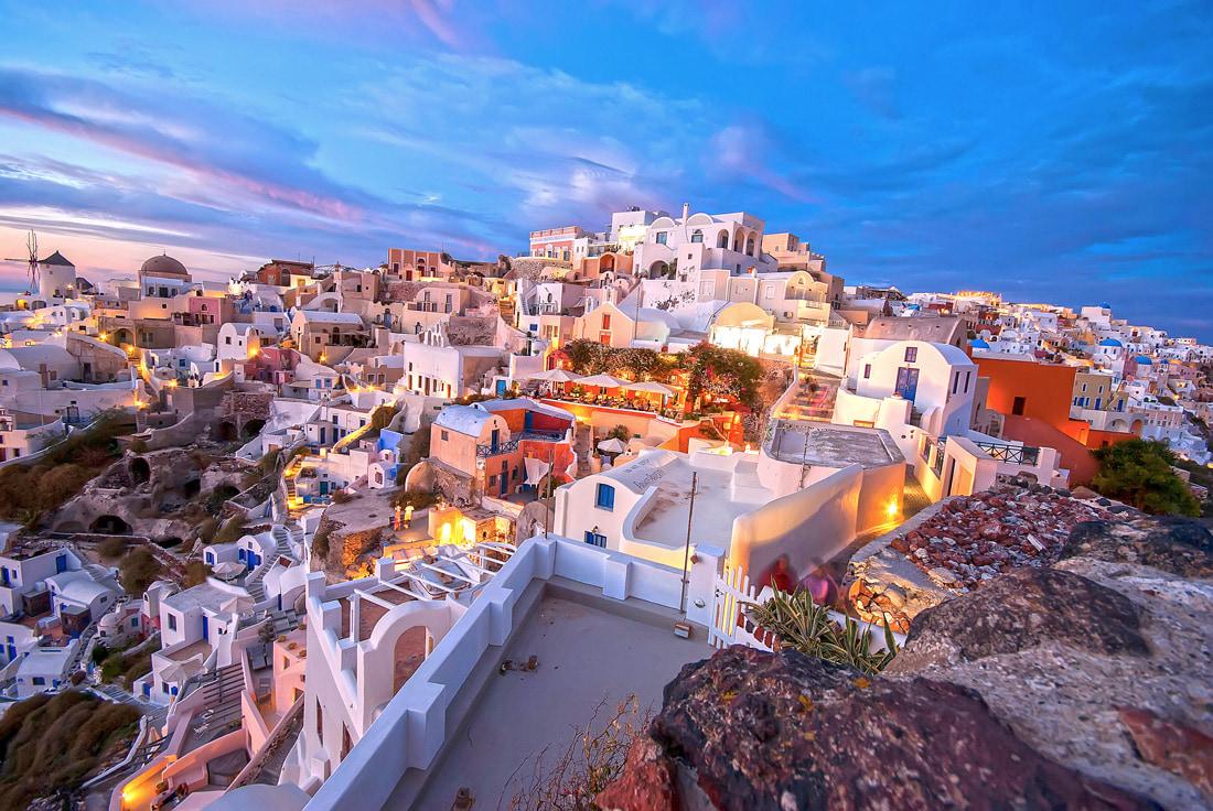 Oia, Most Beautiful Village in Santorini