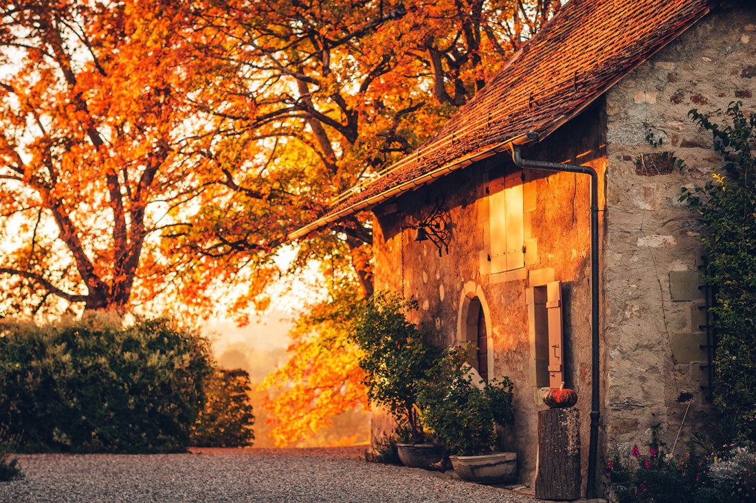 Autumn colors in Tuscany