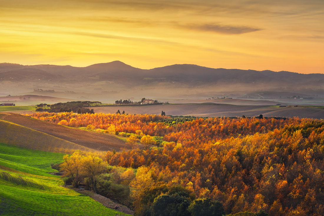 Tuscany in October