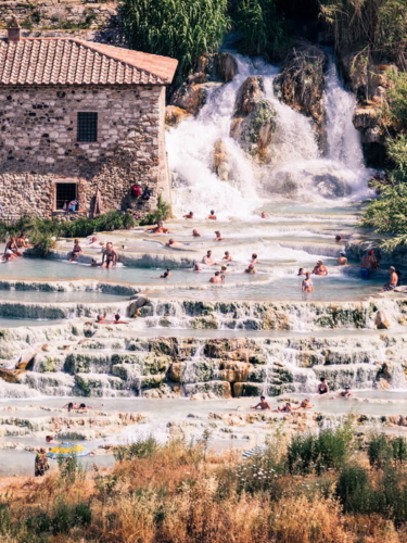 European spa town