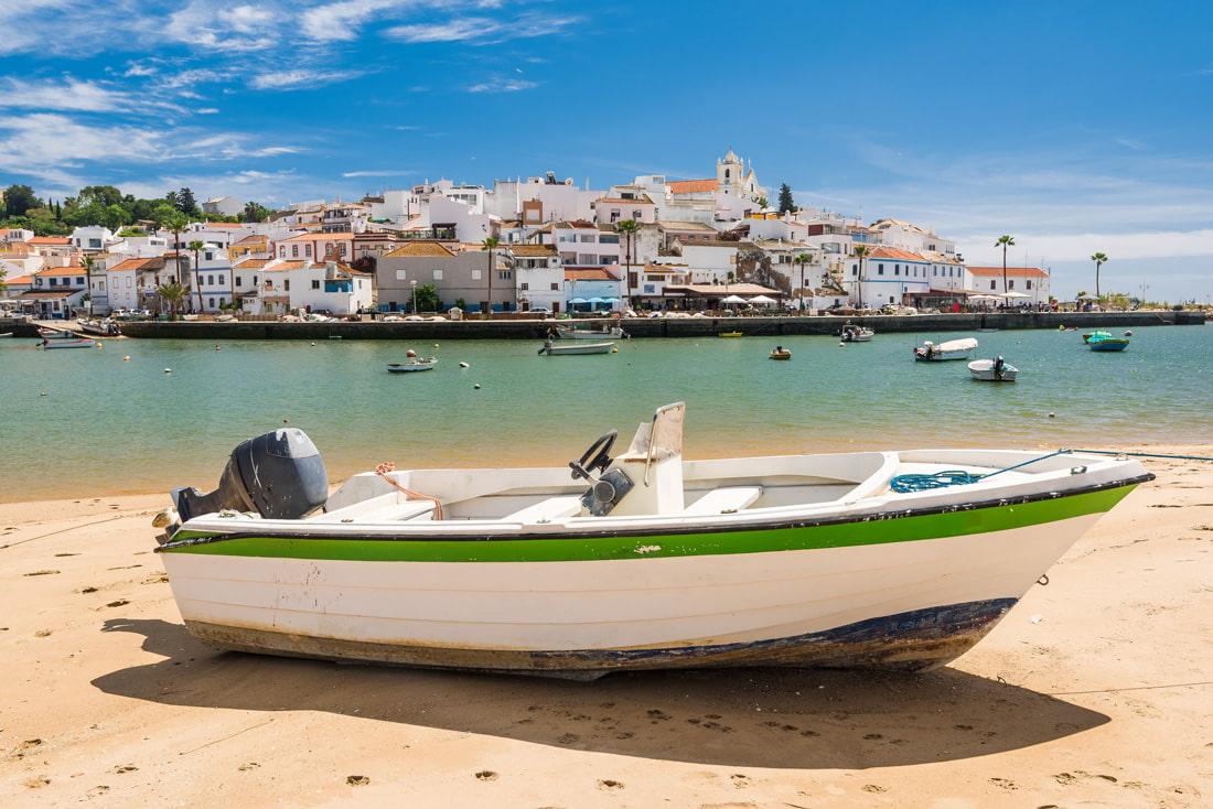 Fishing village in Spain
