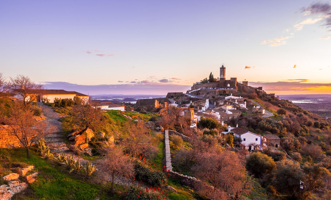 The medieval village of Monsaraz