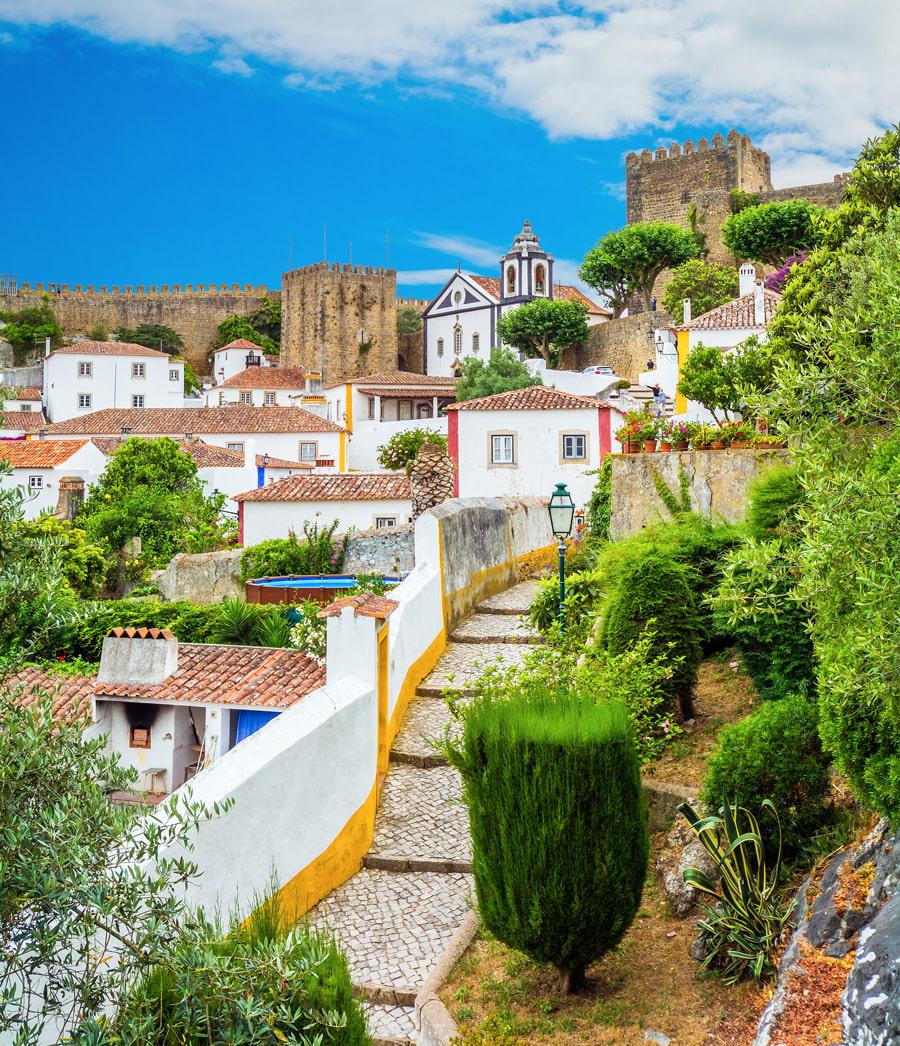 Beautiful town in Portugal