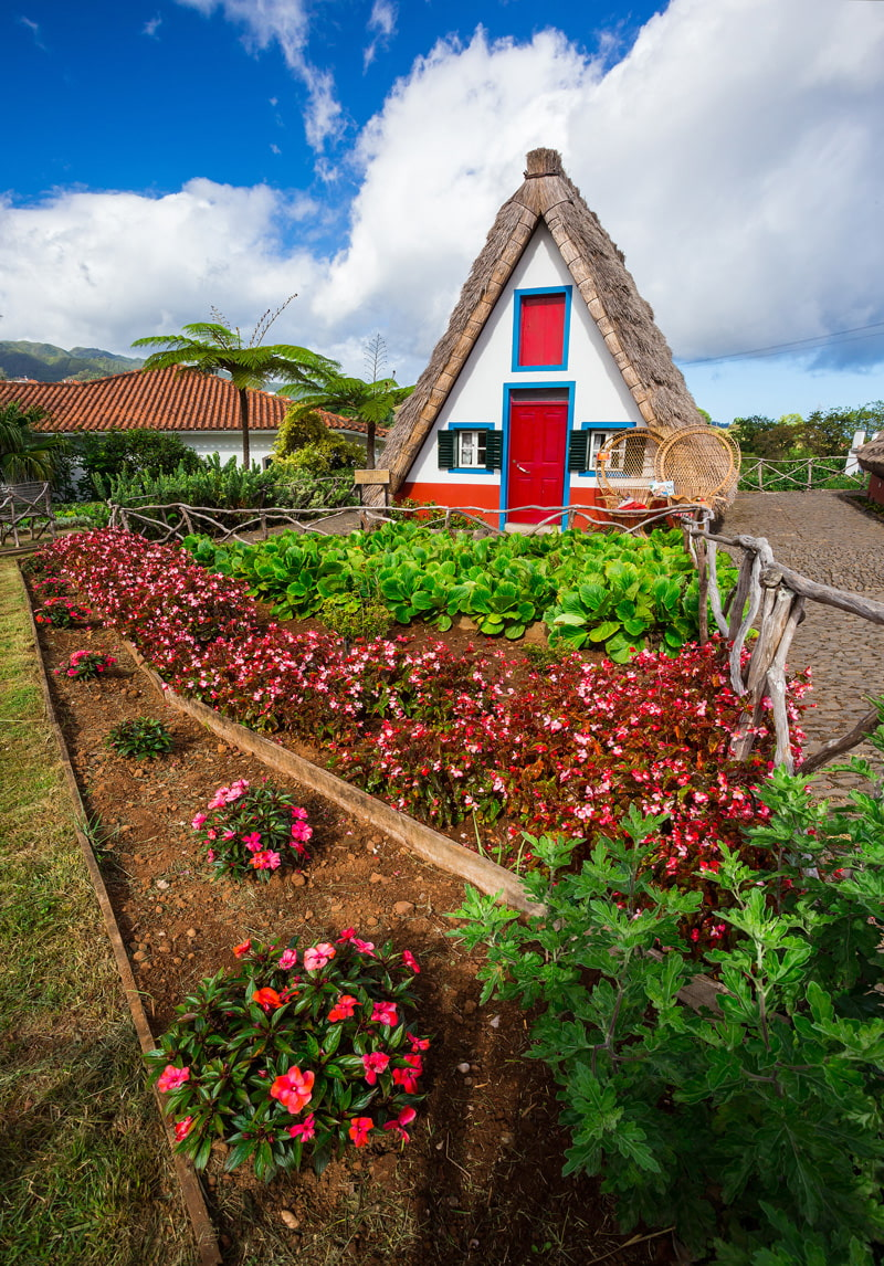 Rural house in Santana, Madeira