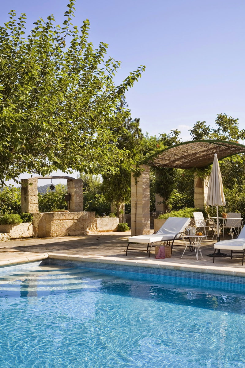 Family retreat in the Mallorcan countryside