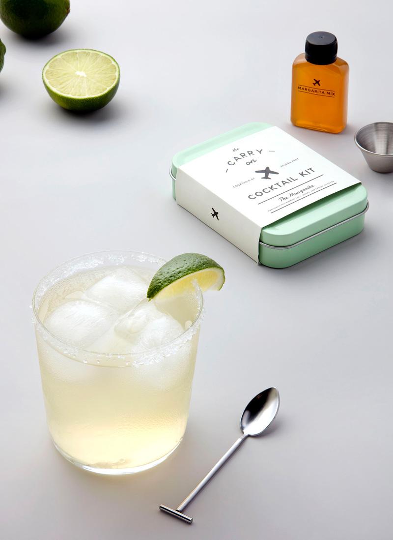 Portable cocktail kit
