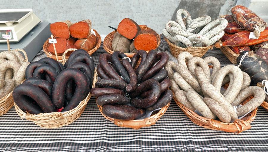 Catalan sausages