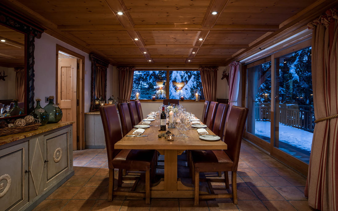 Chalet rental in Meribel