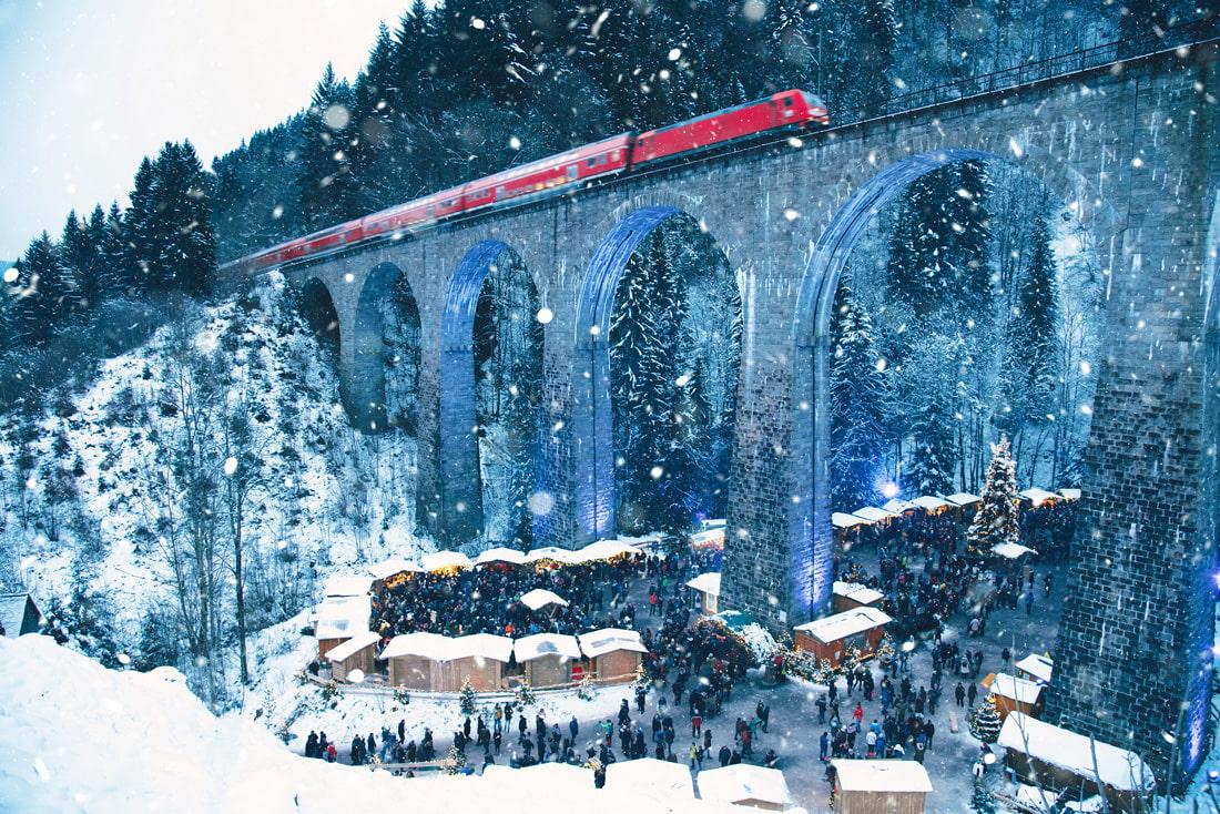 Ravenna Gorge, Germany Christmas Market