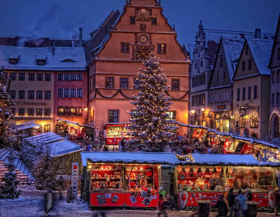 Rothenburg ob der Tauber Reiterlesmarkt
