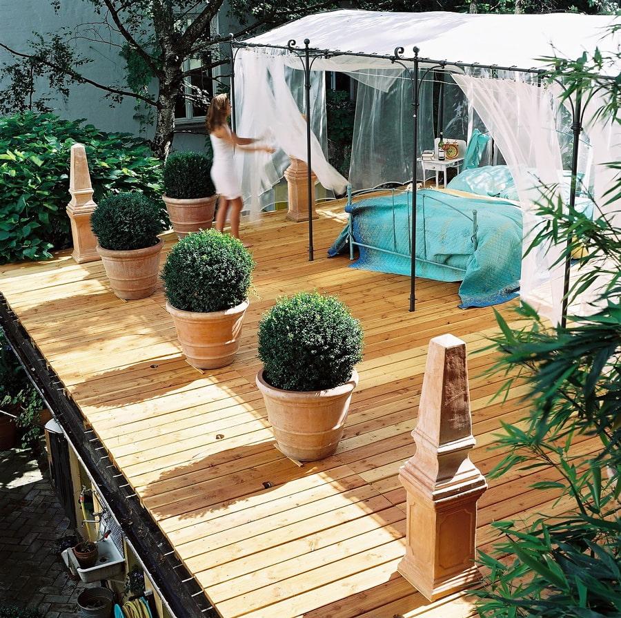 Garden room in Berlin