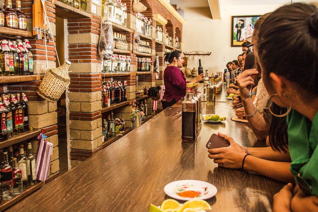 Mezcal tasting in Oaxaca