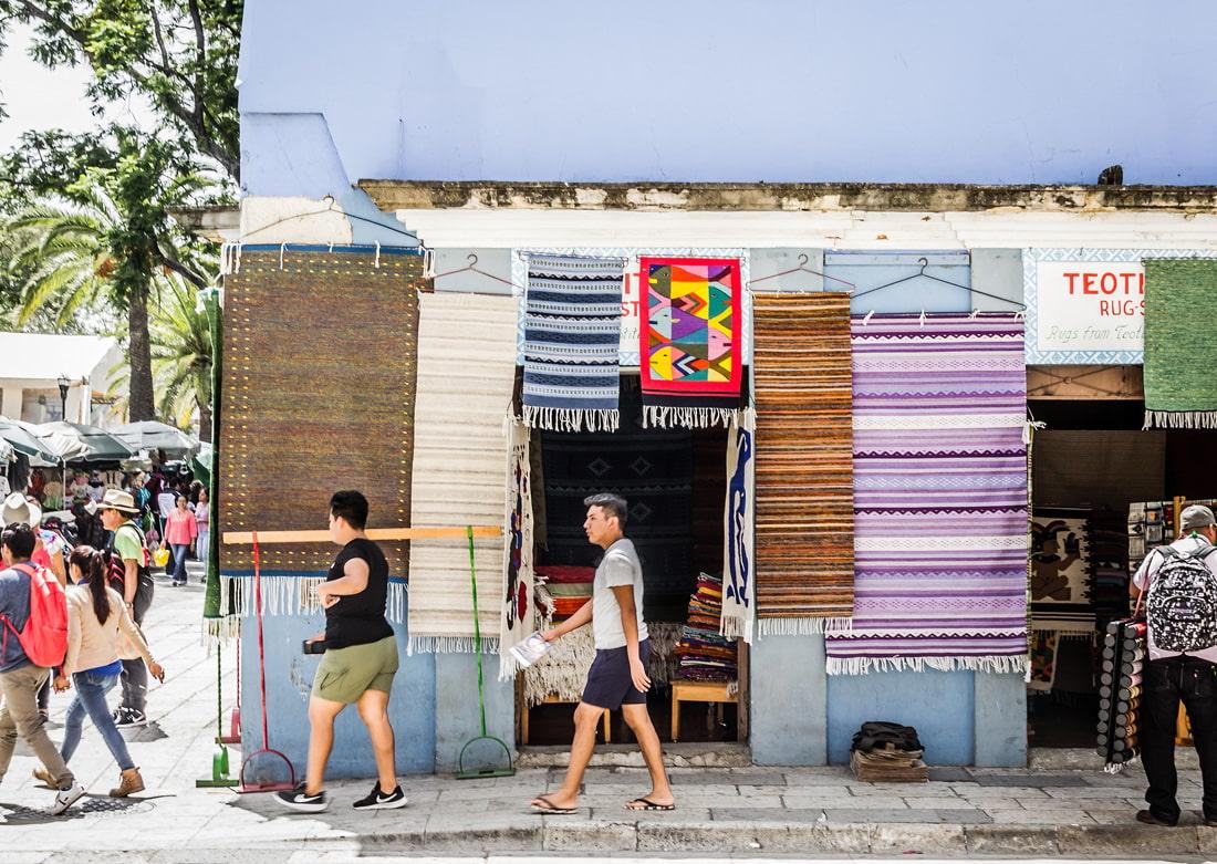 Traditional shop in Oaxaca