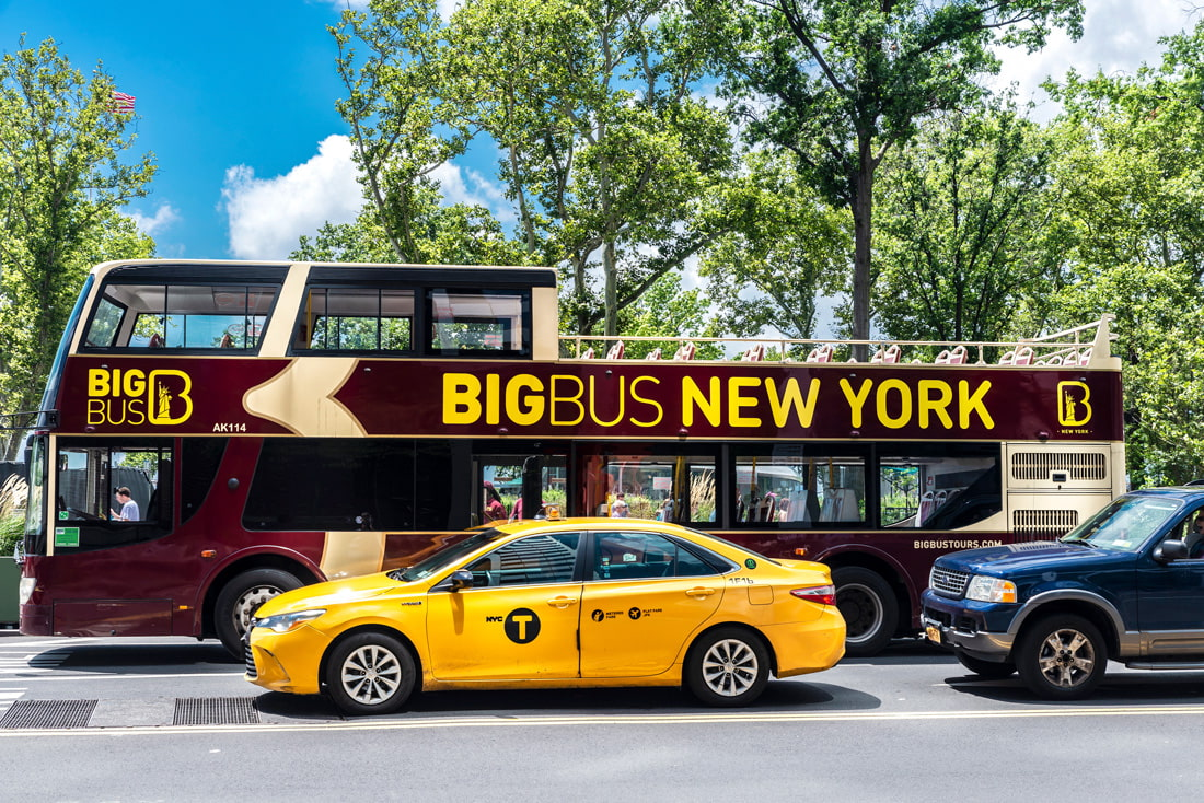 Bus tour in NYC