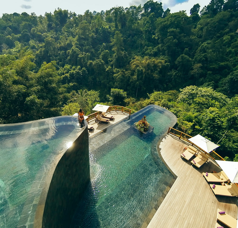 Most spectacular swimming pool on Instagram
