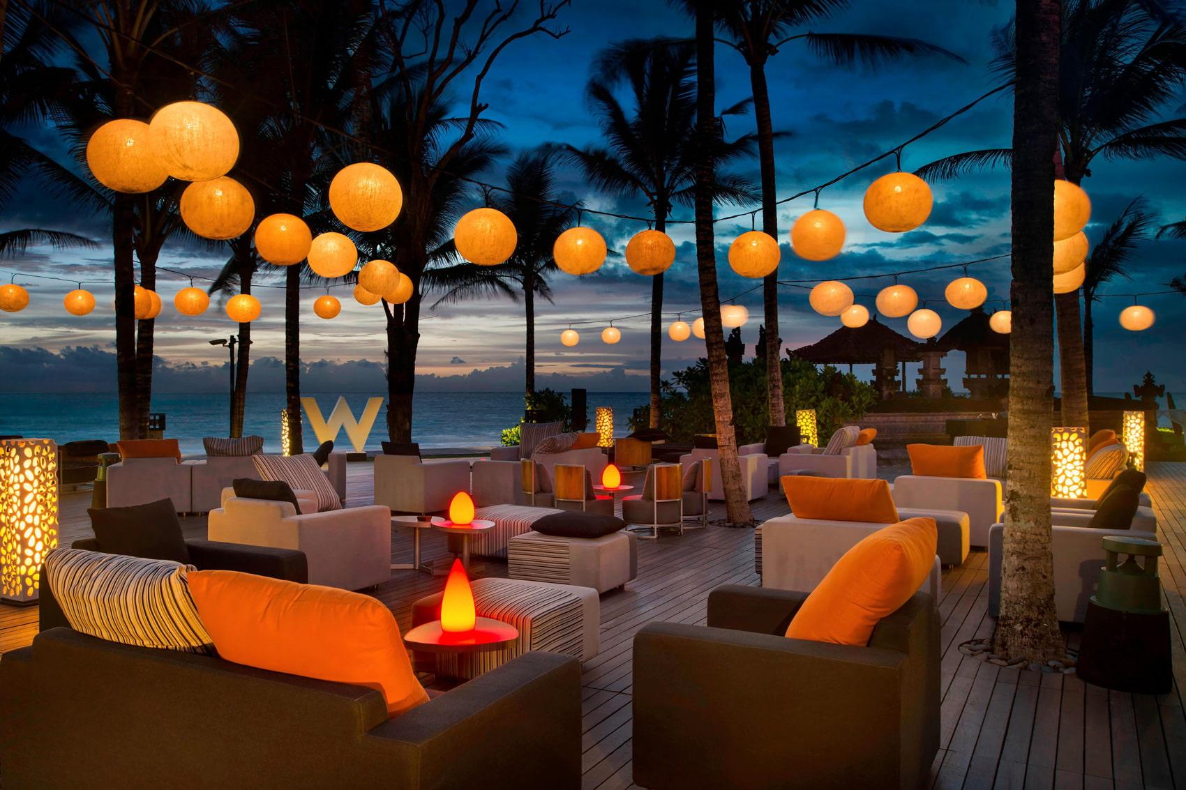 Beachfron hotel in Bali