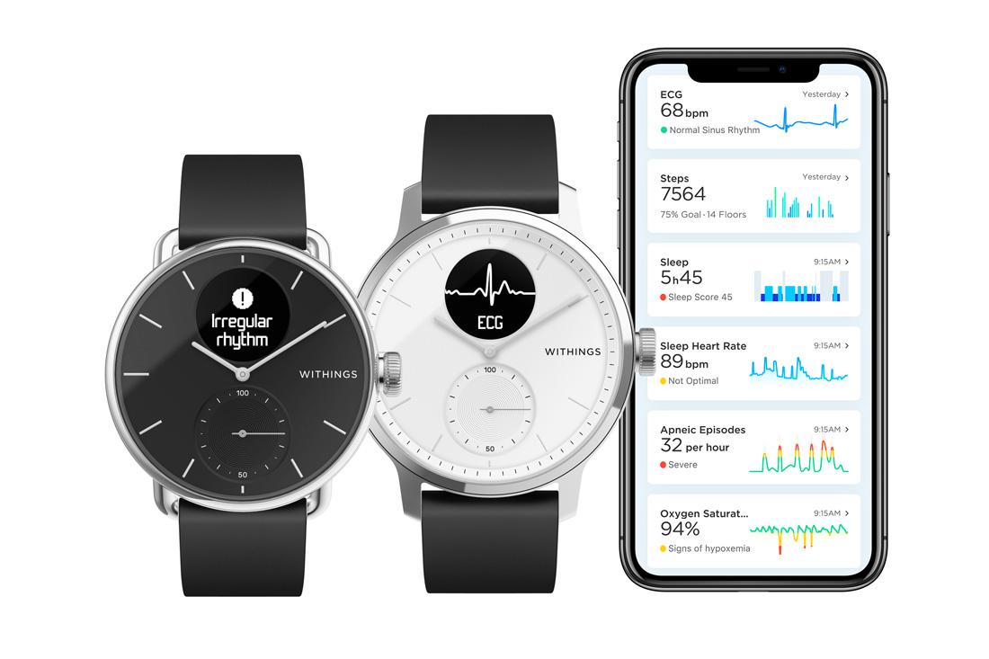 Advanced fitness watch hybrid