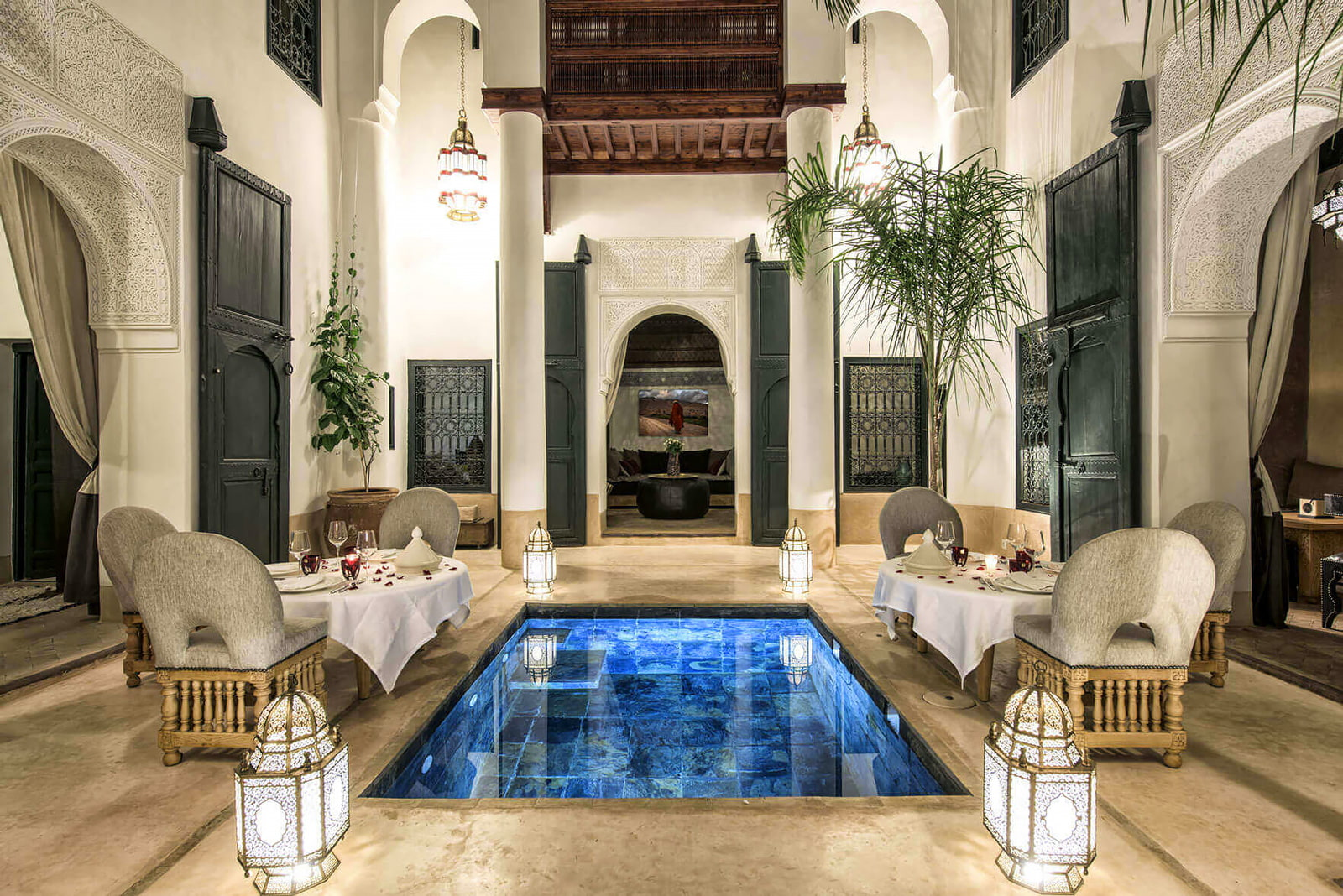 Beautiful riad design