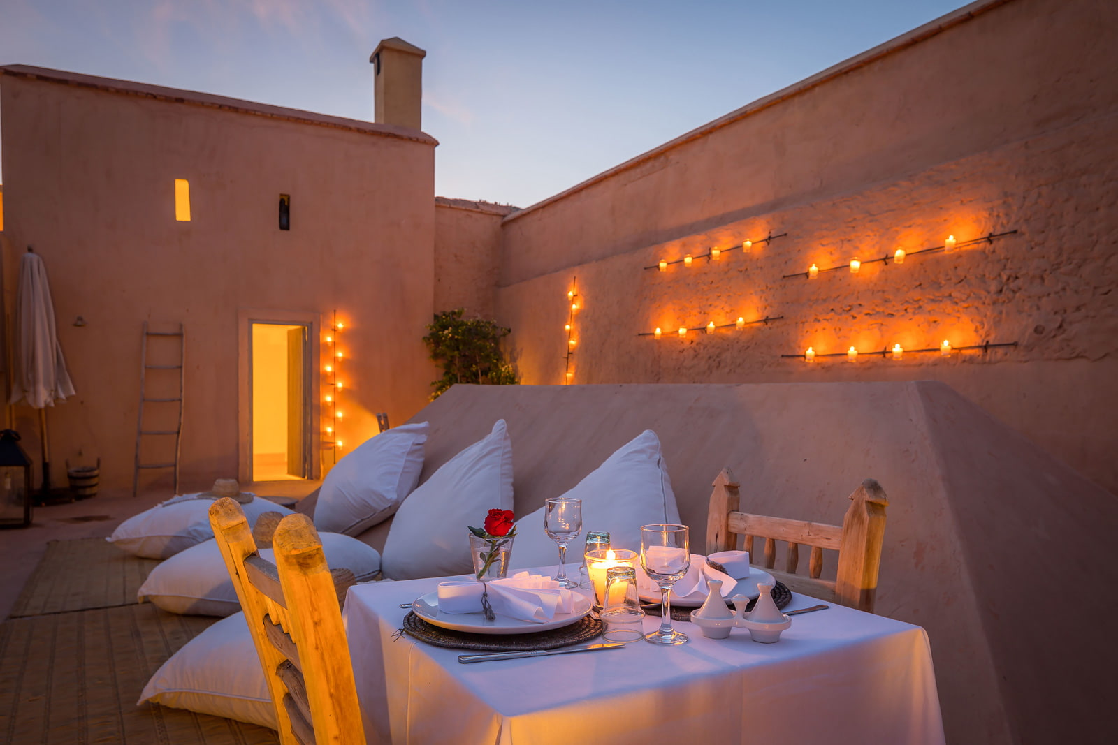 Coxy rooftop space in Marrakech