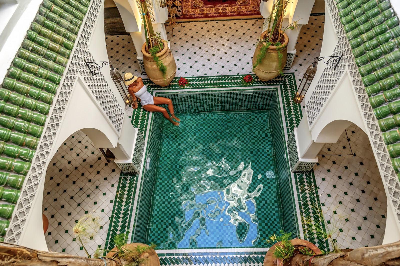 Design riad in Marrakech