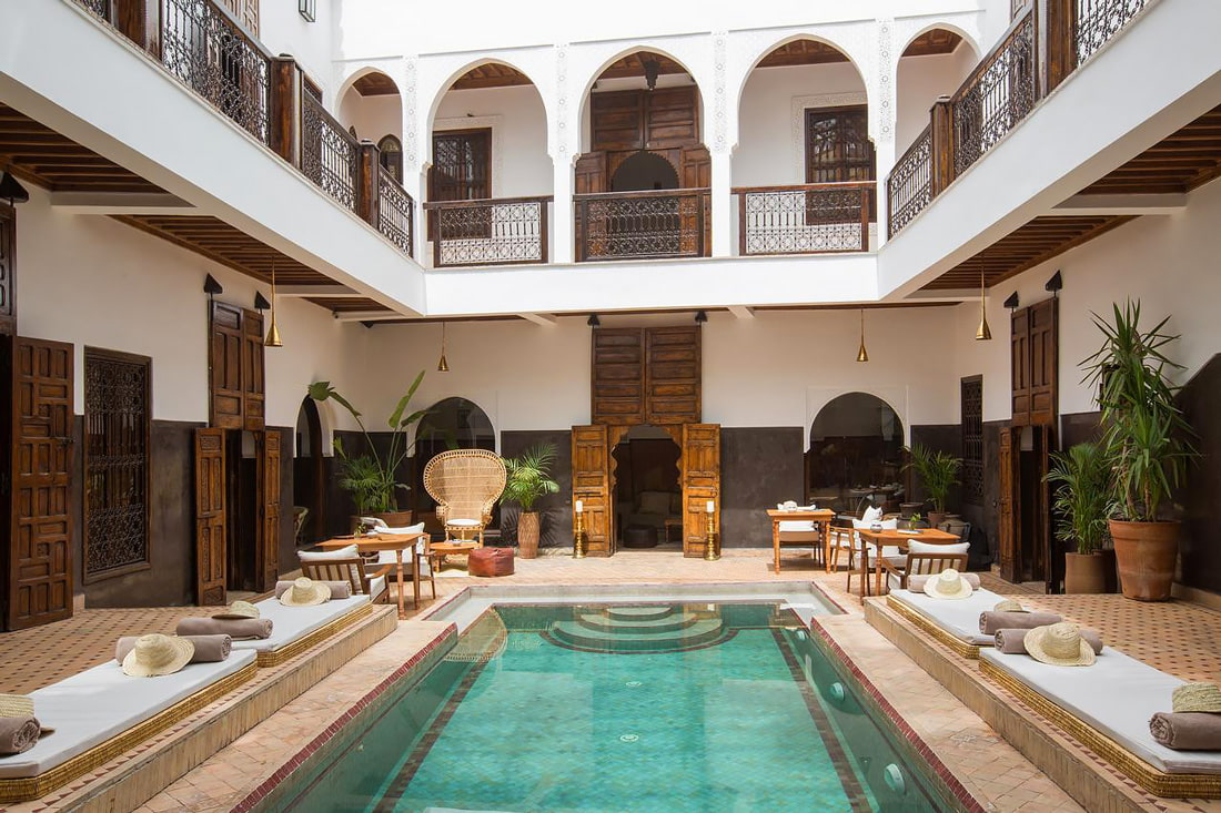 Riad to rent in Marrakech