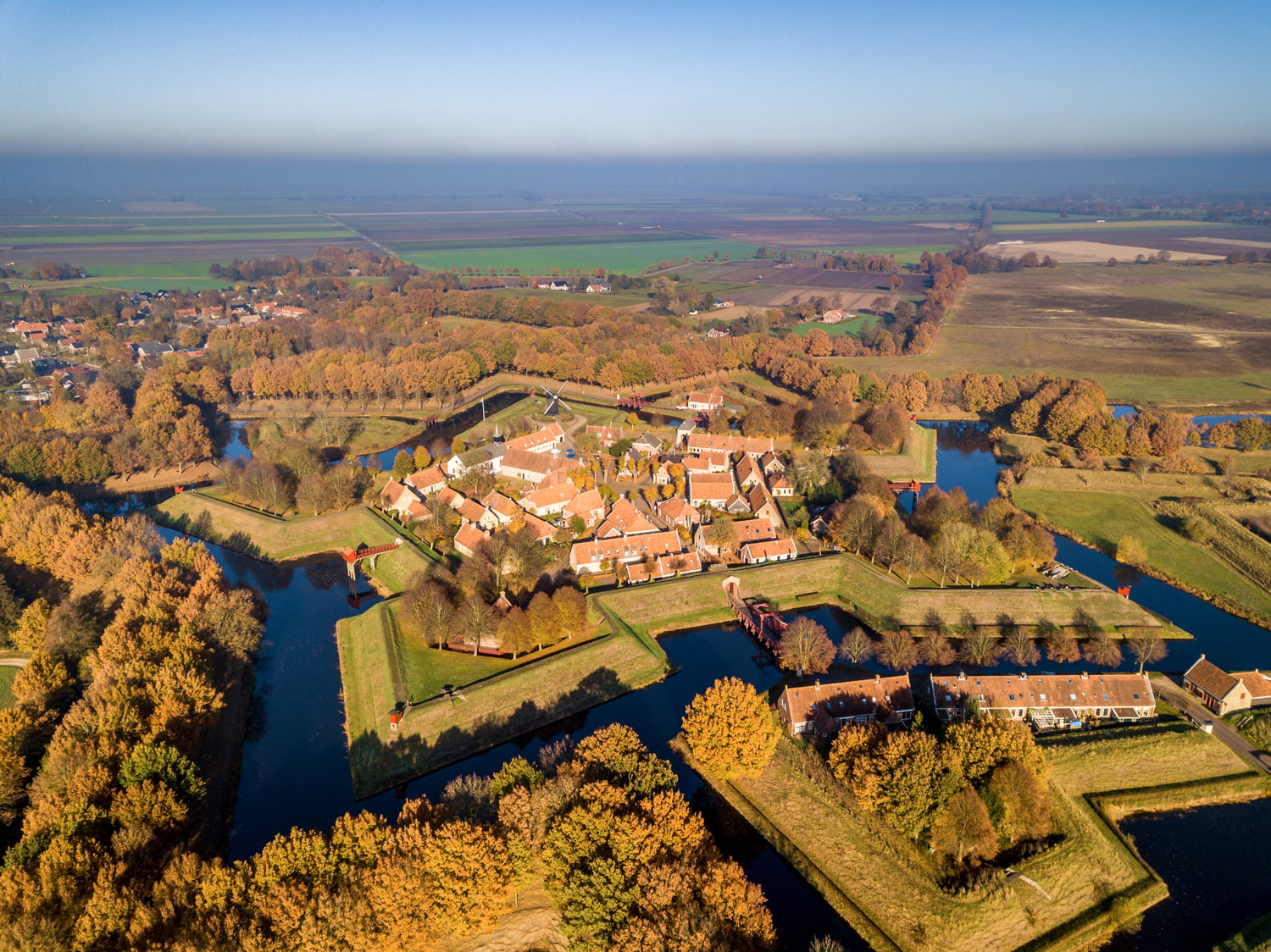 The Bourtange fortress
