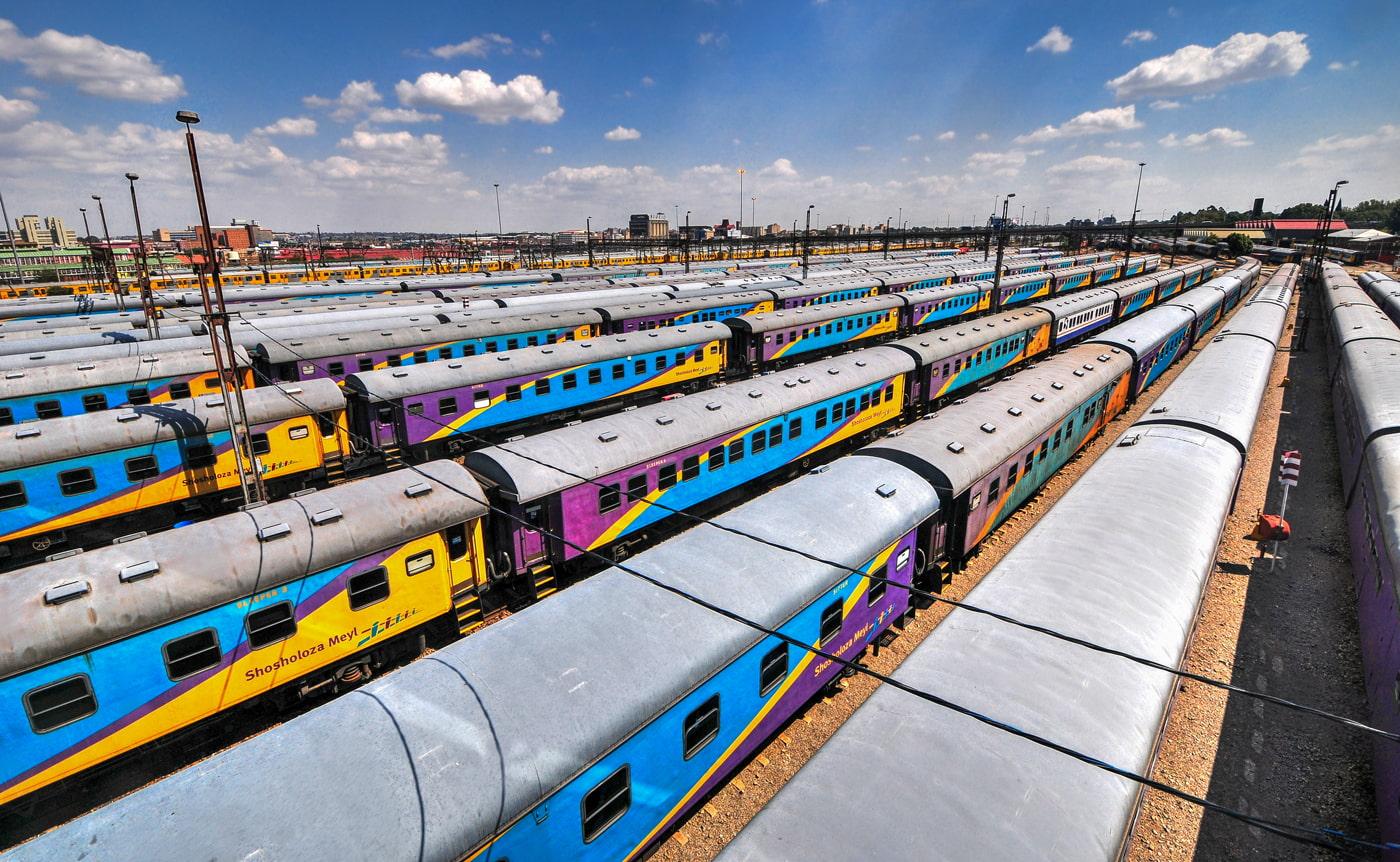 Johannesburg railway