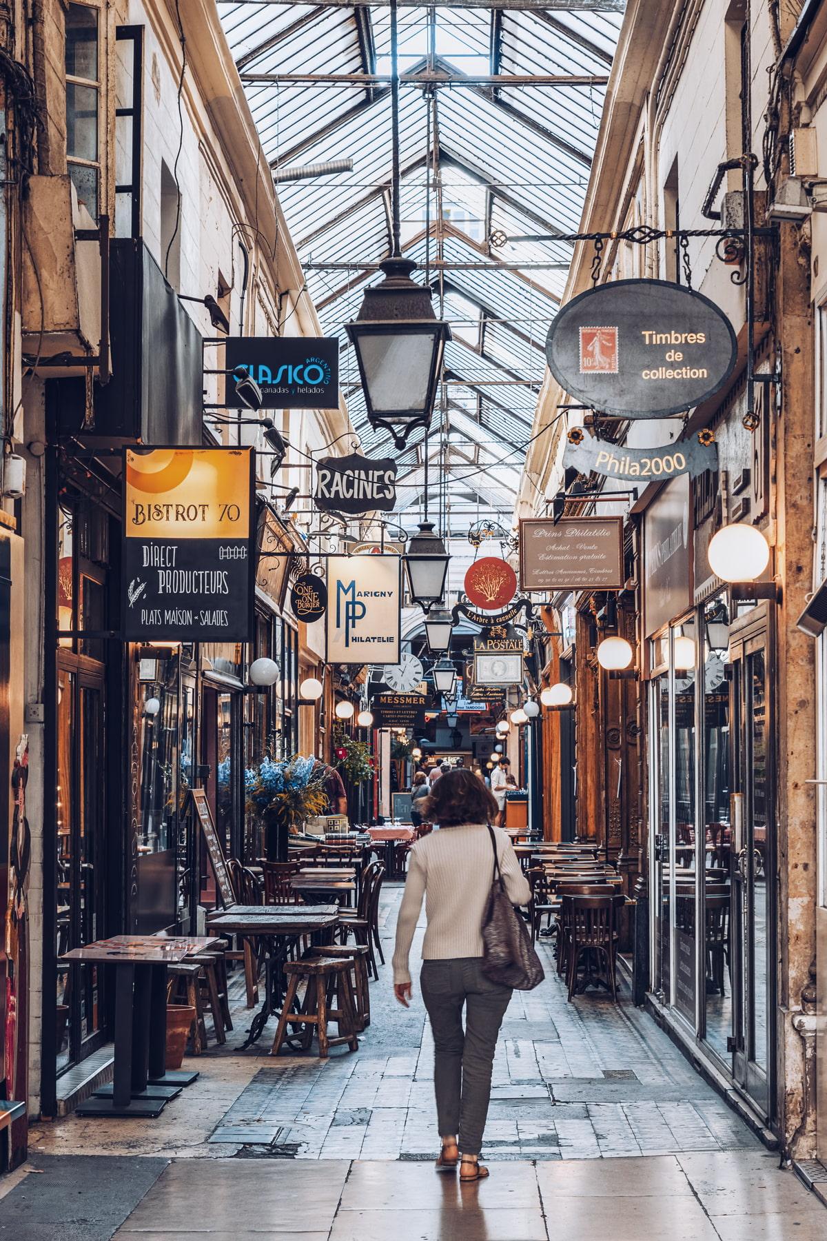 Passage des Panoramas, Paris